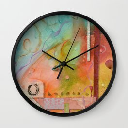 Outer World Wall Clock