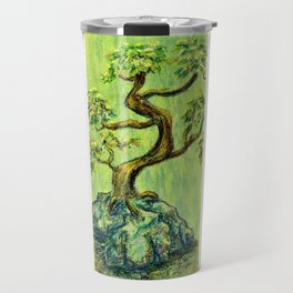 Teal Bonsai Travel Mug