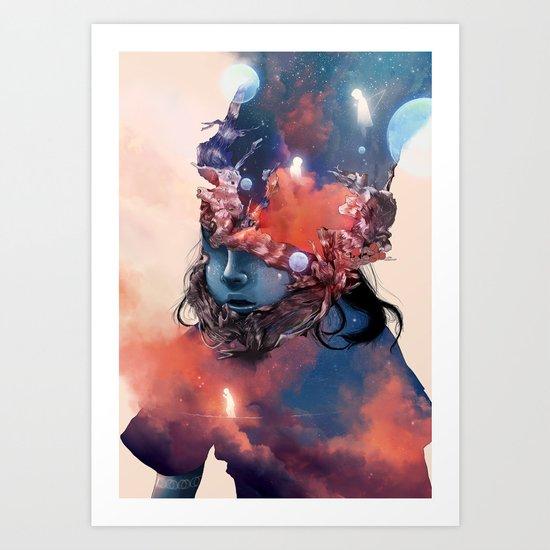 Mandorla Art Print