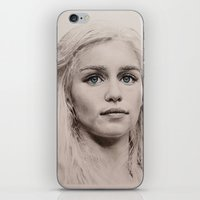 targaryen iPhone & iPod Skins featuring Daenerys Targaryen  by Maddy Kouns