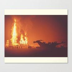 Dragon Burn Canvas Print