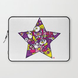 PINK STAR Laptop Sleeve