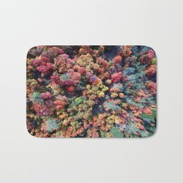FOREST - AUTUMN - COLORS - PHOTOGRAPHY - NATURE Bath Mat