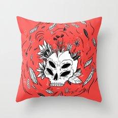 Ancient Alien Throw Pillow