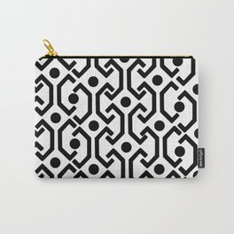 Ethnic Pattern (White) Carry-All Pouch