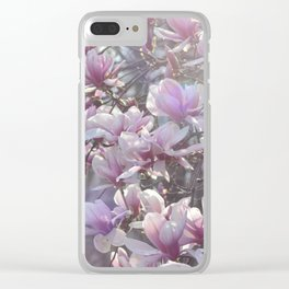 Early Spring Blossoms Clear iPhone Case