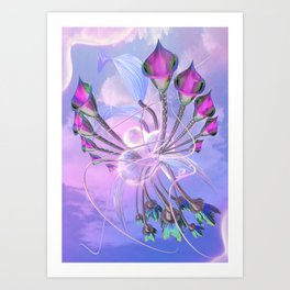 Bota V2 Art Print