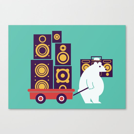 Ready to Jam Canvas Print