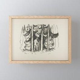 The Forest, Edvard Munch, 1908 Framed Mini Art Print