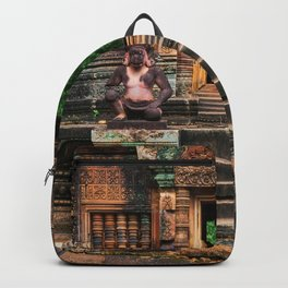 Red Temple Backpack