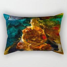 Monk Trip Rectangular Pillow