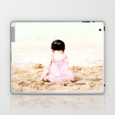 Baby at Beach Laptop & iPad Skin