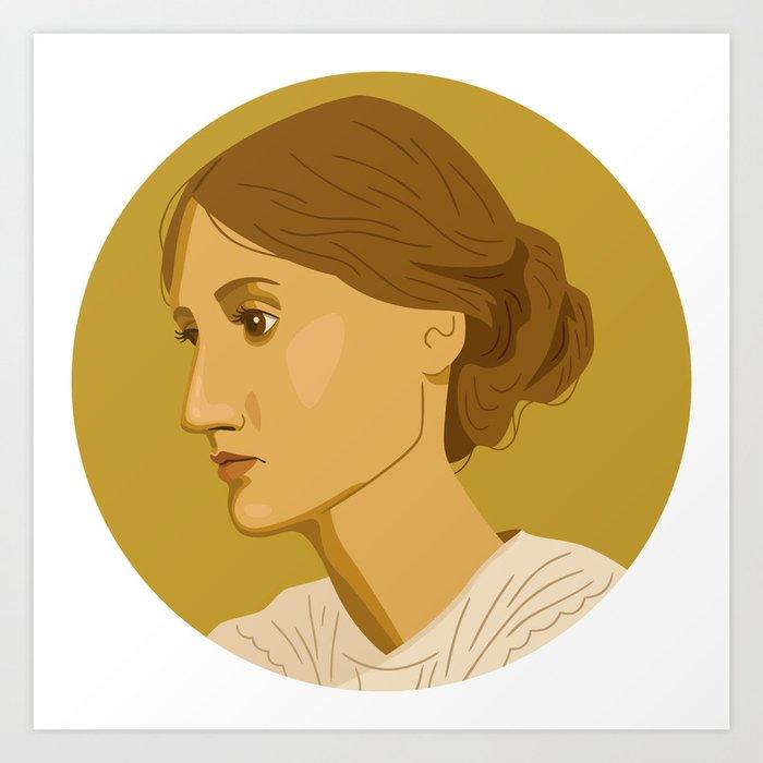 Queer Portrait - Virginia Woolf Art Print