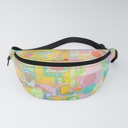 Divided But not Isolated Fanny Pack