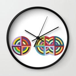 Protractor Wall Clock