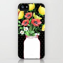 Mason Jar #3 iPhone Case