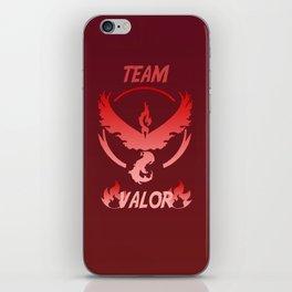 Team Valor Logo PokemonGo iPhone Skin