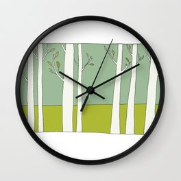 The Trees Wall Clock