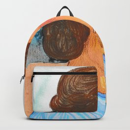 Persephone - Blue Palette Backpack