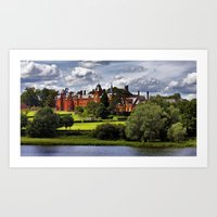 college Art Prints featuring Framlingham College by Darren Burroughs