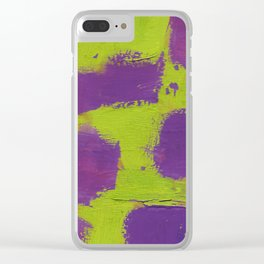 Abstract color 2 Clear iPhone Case