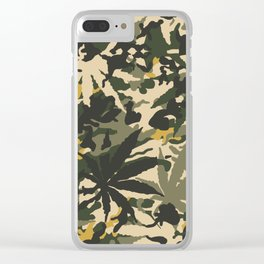 Camo420, The ultimate street camouflage. Clear iPhone Case