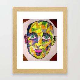 Mosaic Man  Framed Art Print