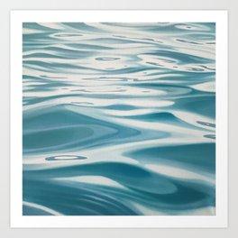 Drifter - water painting Art Print
