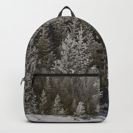 Carol Highsmith - Snow Covered Conifers Backpack