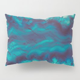 Blue Agate River of Earth Pillow Sham