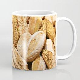 Bread baking rolls and croissants Coffee Mug