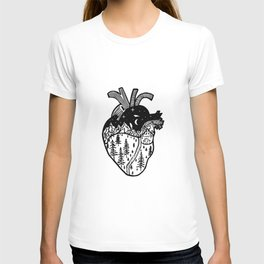 Heart in the Mountains T-shirt