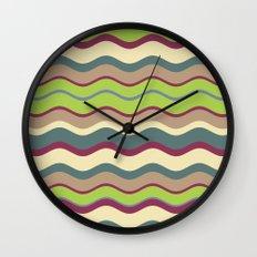 Appley Wave Wall Clock