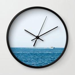 Croatia Blue (1) Wall Clock