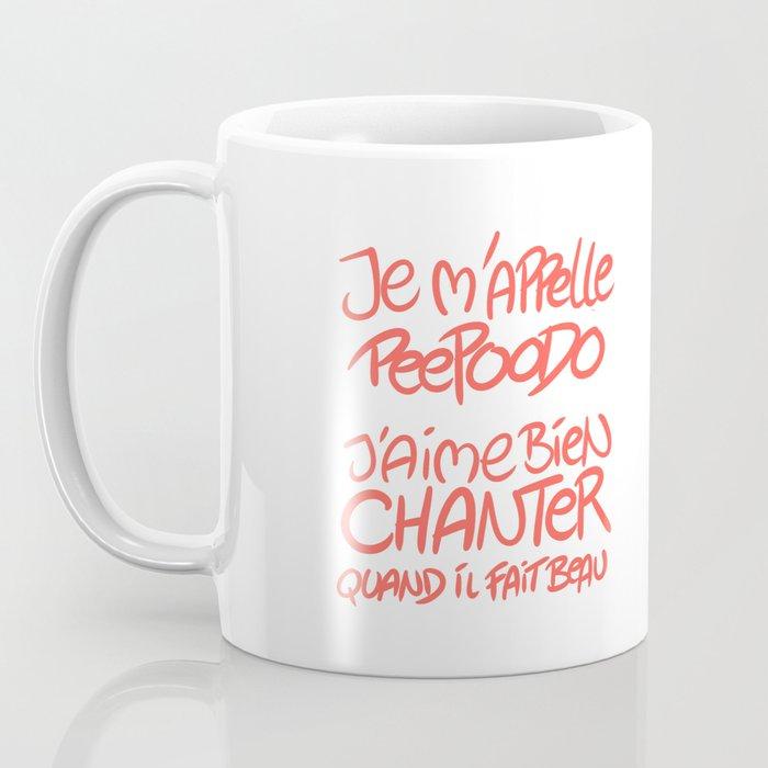 Peepoodo's song Coffee Mug