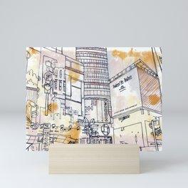 Longacre Square  Mini Art Print