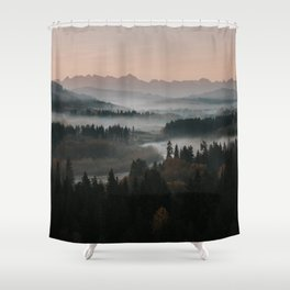 Good Morning! - Landscape and Nature Photography Shower Curtain