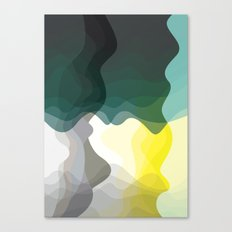 Green Lava Canvas Print