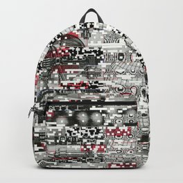 Ambulance Chaser (P/D3 Glitch Collage Studies) Backpack