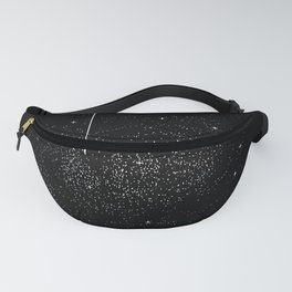 You Are Here Solar System Moon Space Fanny Pack