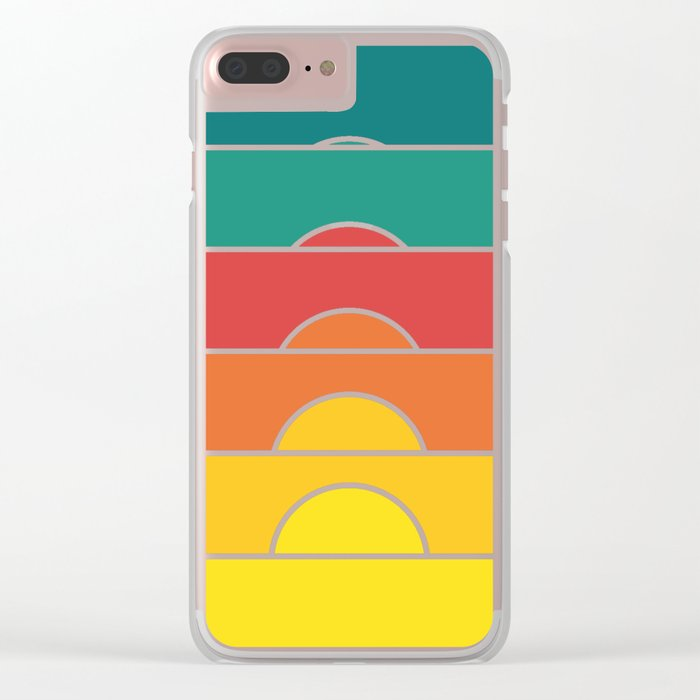 No regrets Clear iPhone Case