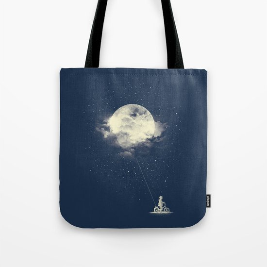 THE BOY WHO STOLE THE MOON Tote Bag