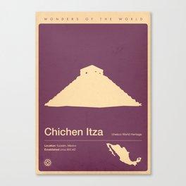 Chichen Itza, Mexico Canvas Print