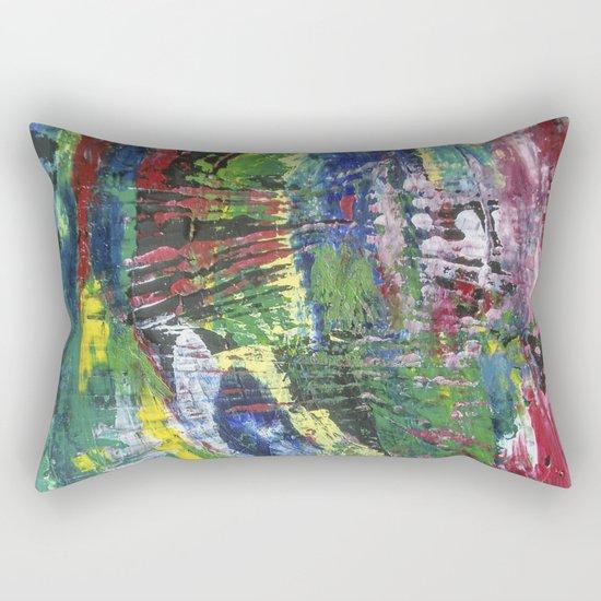 Abstract painting 12 Rectangular Pillow