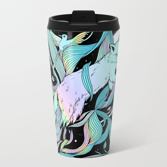 Wild Emergence (Warm Freeze) Metal Travel Mug