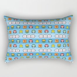 Pixel retro game Rectangular Pillow