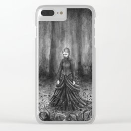 Withering hope Clear iPhone Case