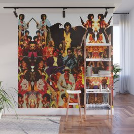 The Black Invasion Wall Mural