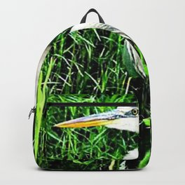 Heron On The Trails Backpack