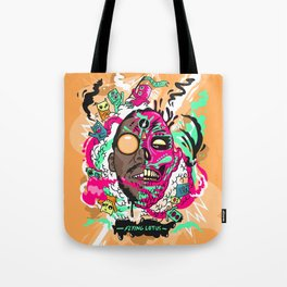 Flying Lotus Tote Bag